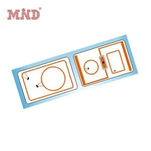 Dual frequency rfid card/Hybrid card