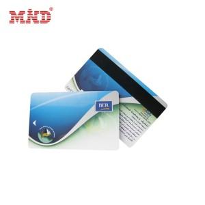 Magnetic stripe hotel keycard