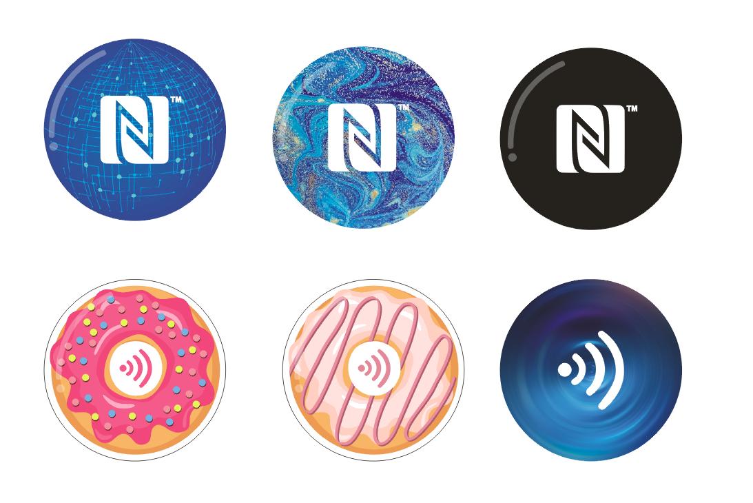 "An NFC ""social chip"" became popular"