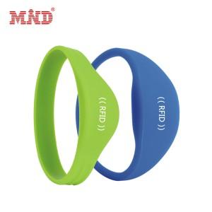 Bottom price Rfid Button Tag - RFID Silicone wristband – Mind